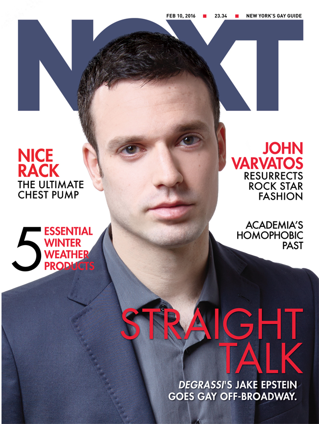 STRAIGHT NEXT Magazine Cover